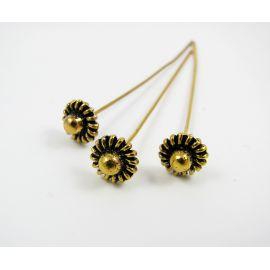 Decorative pin 58x0.8 mm, 6 pcs.
