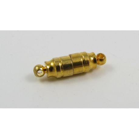Magnetinis užsegimas, rankdarbiams, ausko spalvos, dydis 18x6 mm