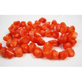 Coral beads 7-8 mm