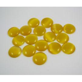 Stiklinis cabochon 20x6 mm