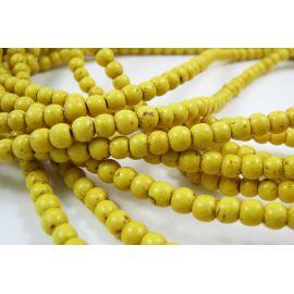 Sintetinio turkio karoliukų gija 3-4 mm
