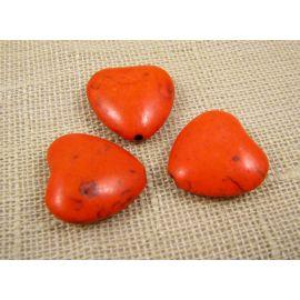 Sintetinio turkio širdelė 20 mm