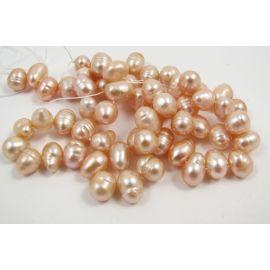 Gėlavandenių perlų gija 7-10 mm