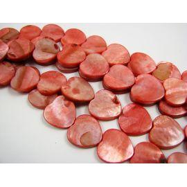 Perlų masės karoliukai 15 mm, 1 vnt.