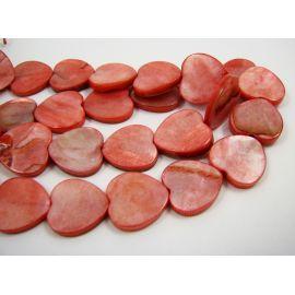 Perlų masės karoliukų gija 15 mm