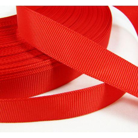 Satino juostelė rankdarbiams, papuošalams, raudonos spalvos, 16 mm pločio, 1 metras