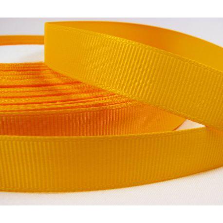 Satino juostelė, dvipusė, geltonos spalvos, 16 mm pločio, 1 metras