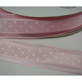 Organza ribbon 40 mm, 5 m.