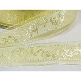 Organza ribbon 40 mm, 5 m.