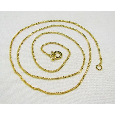 Grandinėlė aukso spalvos, pakabukams, rankdarbiams, papuošalams 1,2 m, 48 cm ilgio