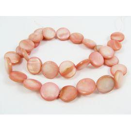Perlų masės karoliukų gija 12 mm