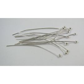 Žalvariniai smeigtukai 40x0.6 mm, ~100 vnt. (11,90 g.)