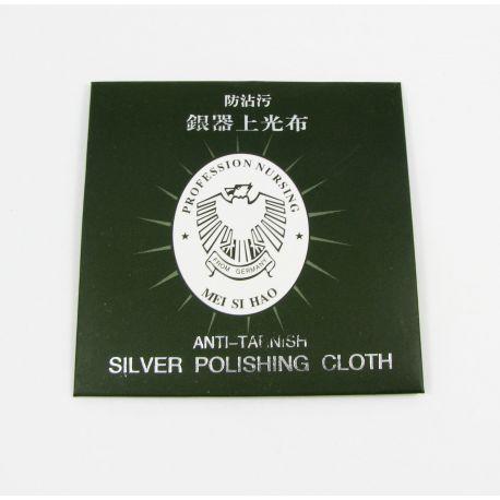 Servetėlė sidabro valymui, dydis apie 82x82 mm , 1 vnt.