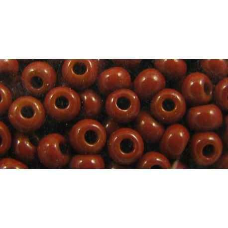 Preciosa biseris (13600-11) rudos spalvos, 50 g