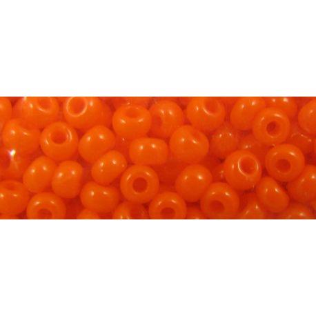 Preciosa biseris (93140-11) oranžinės spalvos, 50 g