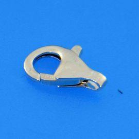 Sidabrinis 925 vėrinio užsegimas, 11 mm, 1 vnt., svoris ~0,55 g.