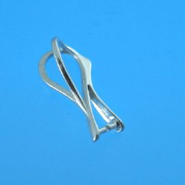 Sidabrinis 925 pakabukas SW kristalui, 17 mm, 1 vnt, svoris ~0,50 g.