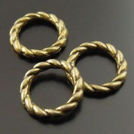 Closed decorative ring 8 mm, 10 pcs.
