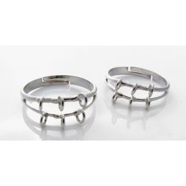 Ring bezel - setting 8 mm (adjustable)
