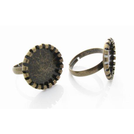 Žiedo pagrindas 8 mm (reguliuojamas)