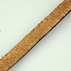 Natūralios odos dirželis 7x2mm, 1 m
