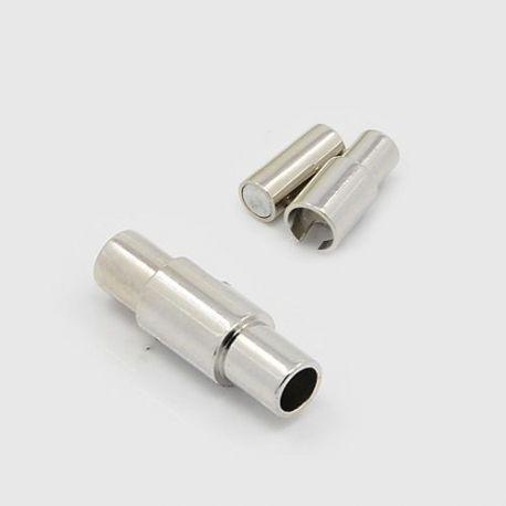 Magnetinis užsegimas, nikelio spalvos, 15x5 mm, 1 vnt.
