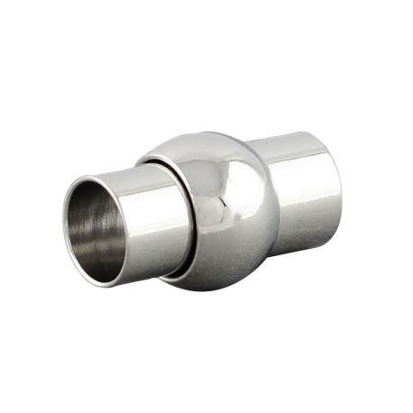 Magnetinis užsegimas, nikelio spalvos, 16x10 mm, 2 vnt.