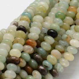 Amazonite bead thread 6x4 mm