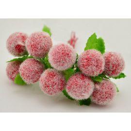 Dekoratyvinė gėlytė - burbuliukas 20 mm, 10 vnt.