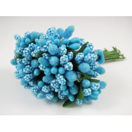 Dekoratyvinė gėlytė - kuokeliai, 12 vnt.