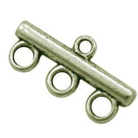 Paskirstytojas - skirtas papuošalų gamybai sujungti elementus, vėriniams, rankdarbiams, suvenyrams, sendintos bronzinės spalvos,