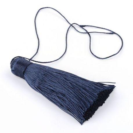 Poliesterio kutas rankdarbiams, papuošalams, suvenyrams gaminti, tamsios mėlynos spalvos, dydis apie 80x13 mm