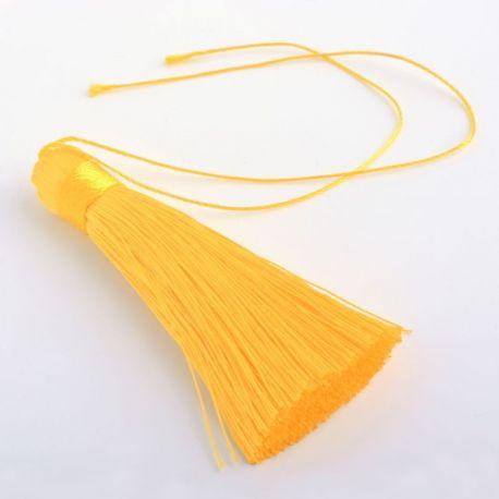 Poliesterio kutas rankdarbiams, geltonos spalvos, 80 mm, 1 vnt.