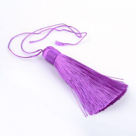 Poliesterio kutas rankdarbiams, purpurinės spalvos, 80 mm, 1 vnt.