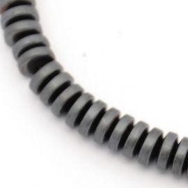 Sintetinio Hematito karoliukų gija 6 mm