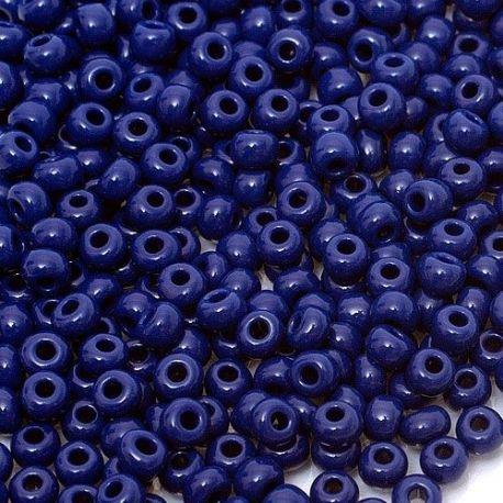 Preciosa biseris (33070-7) tamsiai mėlynos spalvos 50 g