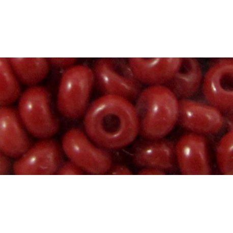 Preciosa biseris (93210-2) raudonos spalvos 50 g