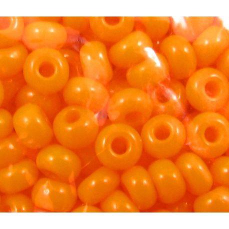 Preciosa biseris (93110-33) oranžinės spalvos 50 g
