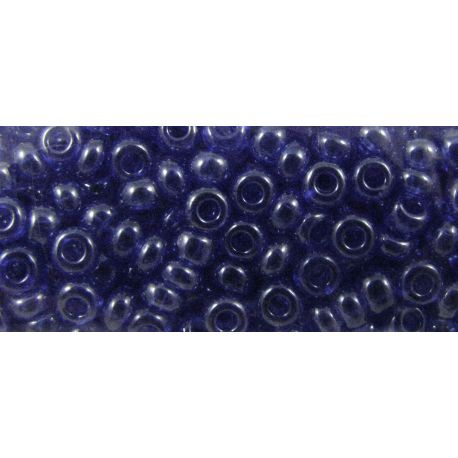 Preciosa biseris (36060-7) blizgios mėlynos spalvos 50 g