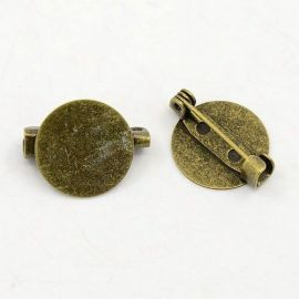 Clasp brooch 21 mm