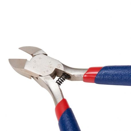 Nerūdijančio plieno replytės rankdarbiams, guminės rankenėlės 11 cm