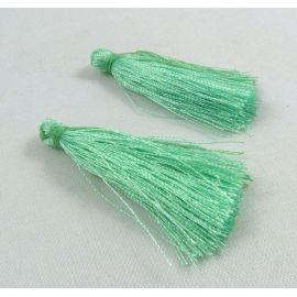 Poliesterio kutas rankdarbiams, šviesiai žalios spalvos, 40 mm, 1 vnt.