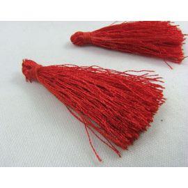 Silk tassel 65 mm, 1 pc.