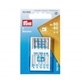 Prym 152 940 siuvimo mašinos adatos 60-80, 5 vnt.