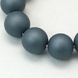 SHELL perlų karoliukai 10 mm, 10 vnt.