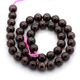 Garnet beads 6-7 mm