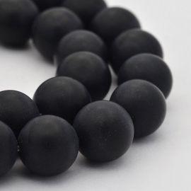 Amethyst beads strand