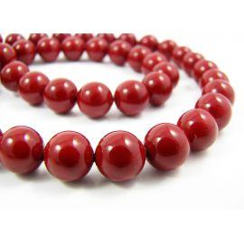 SHELL perlų karoliukai 8 mm