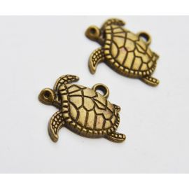"Pendant ""Turtle"" 20x16 mm., 1 pc."