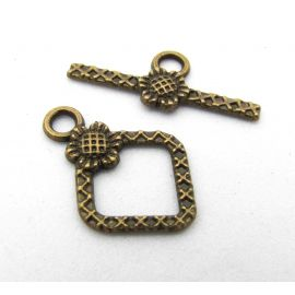 Necklace Clasp 21x16 mm., 1 pc.
